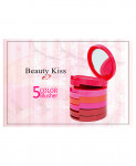 Pack of 5 Beauty Kiss Blusher KT-7027