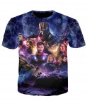 YOUTHUP 3D Avengers End Game 2 T-Shirt